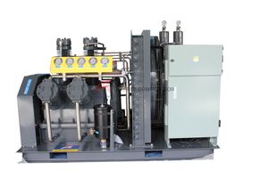 High Pressure Oil Field Use Oil Free Air Compressor 30Mpa
