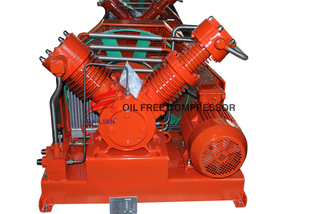 oil less quiet high pressure sf6 compressor