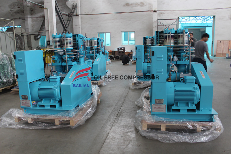 40m3 Oil Free Industrial Reciprocating Pure Oxygen Compressor Supplier