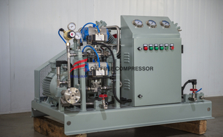 industrial two stage wet co2 booster compressor for Supercritical extraction