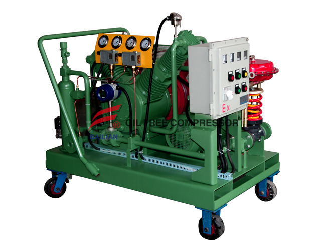 250bar clean energy Stability CNG compressor for car