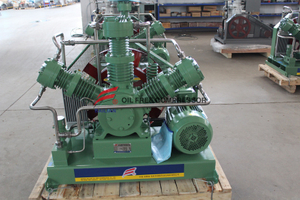 Oil Free Mixed Gas Compressor Oilless for Closing Devices Manufacturer