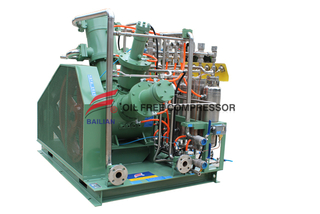 Helium Compressor High Pressure Air Cooled Tank Booster